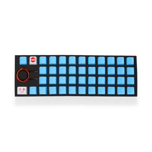 Tai-Hao 42-Key - Neon Kék