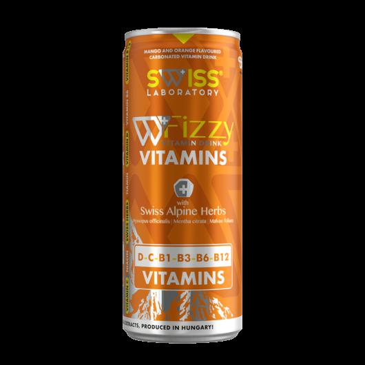 Swiss Fizzy C-vitamin+D