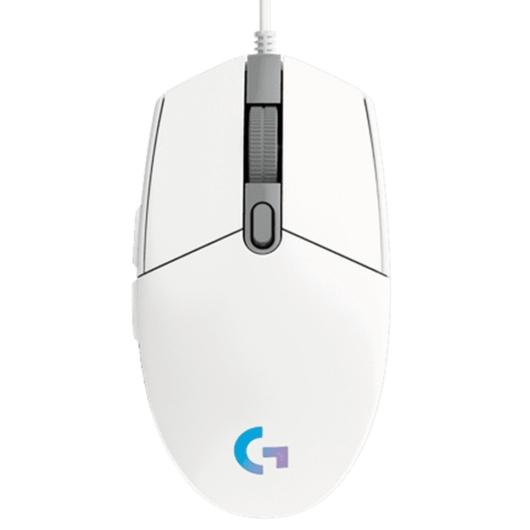 Logitech G102 Lightsync fehér egér