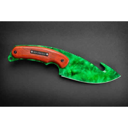 Gut Knife Doppler Emerald