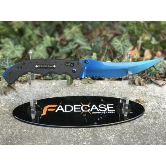 Flip Knife Blue Steel
