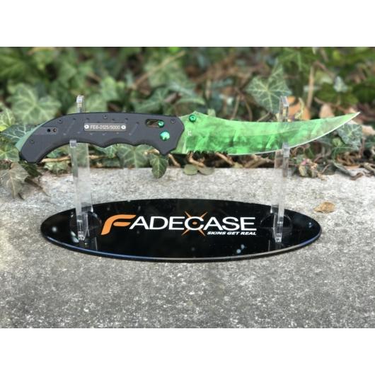 Flip Knife Doppler Emerald