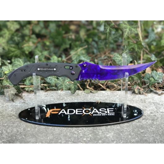 Flip Knife Doppler Sapphire