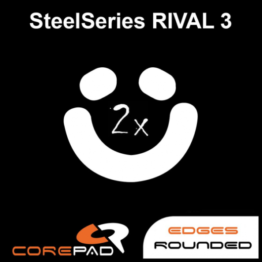 Corepad Skatez for SteelSeries Rival 3